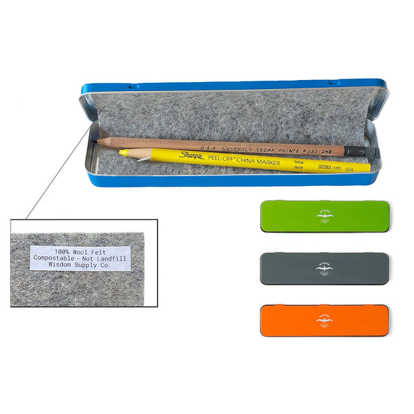 Pencil Tin Husher 100% Wool