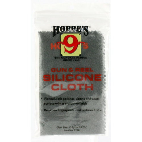 Hoppers Gun and Reel Silicone Cloth