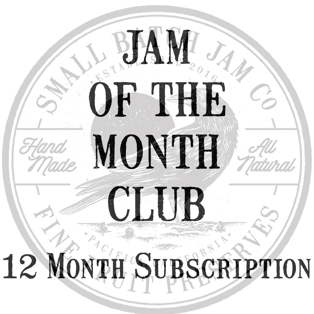 Jam Of The Month Club - 12 Month Subscription
