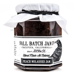 Peach Molasses Jam