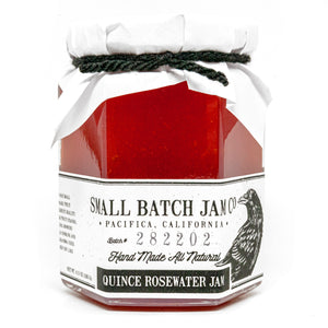 Quince Rosewater Jam
