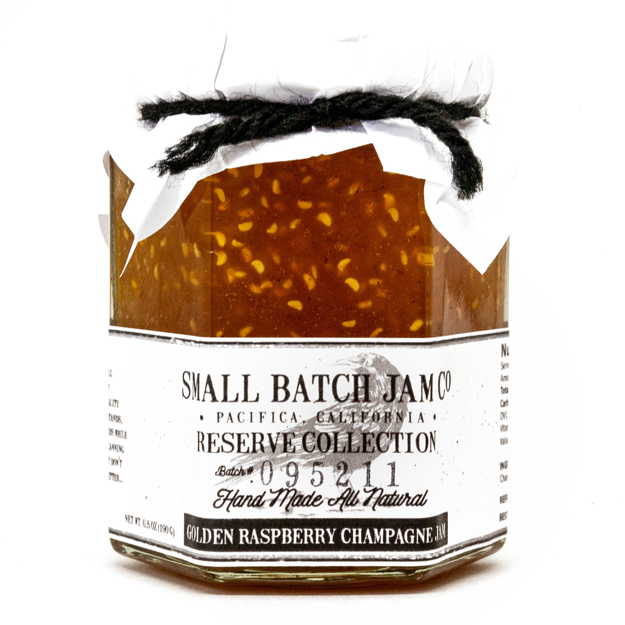 Golden Raspberry Champagne Jam - Reserve Collection