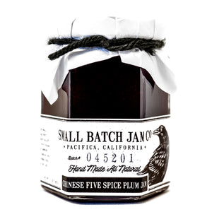 Chinese Five Spice Plum Jam