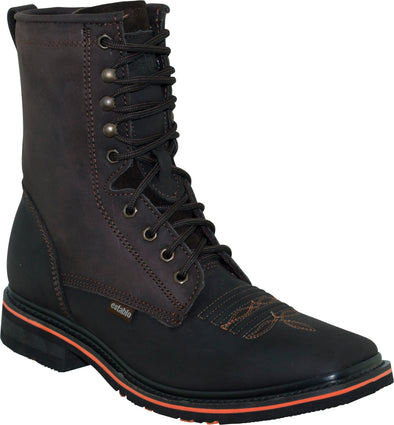 establo Rodeo Boots, Lace up, Genuine Leather square soft toe 992