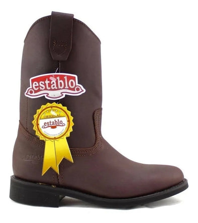 establo 512 Cowboy Boots Genuine Leather 100% Original