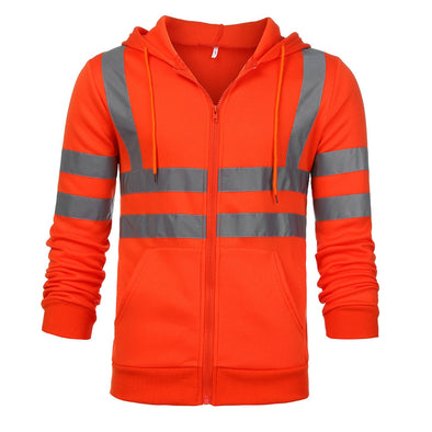 High Visibility Pullover Long Sleeve Jackets