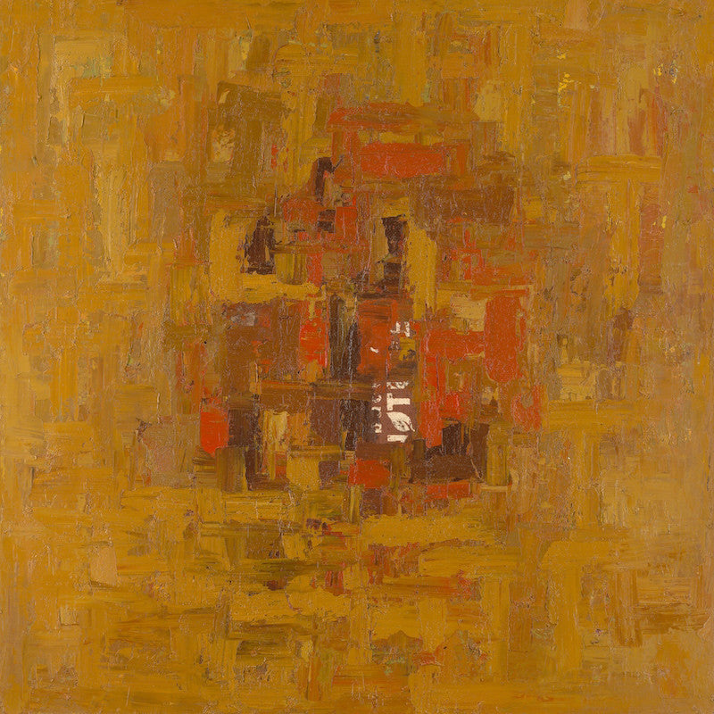 Onyeka Ibe, Structure 39, Mixed Media On Canvas