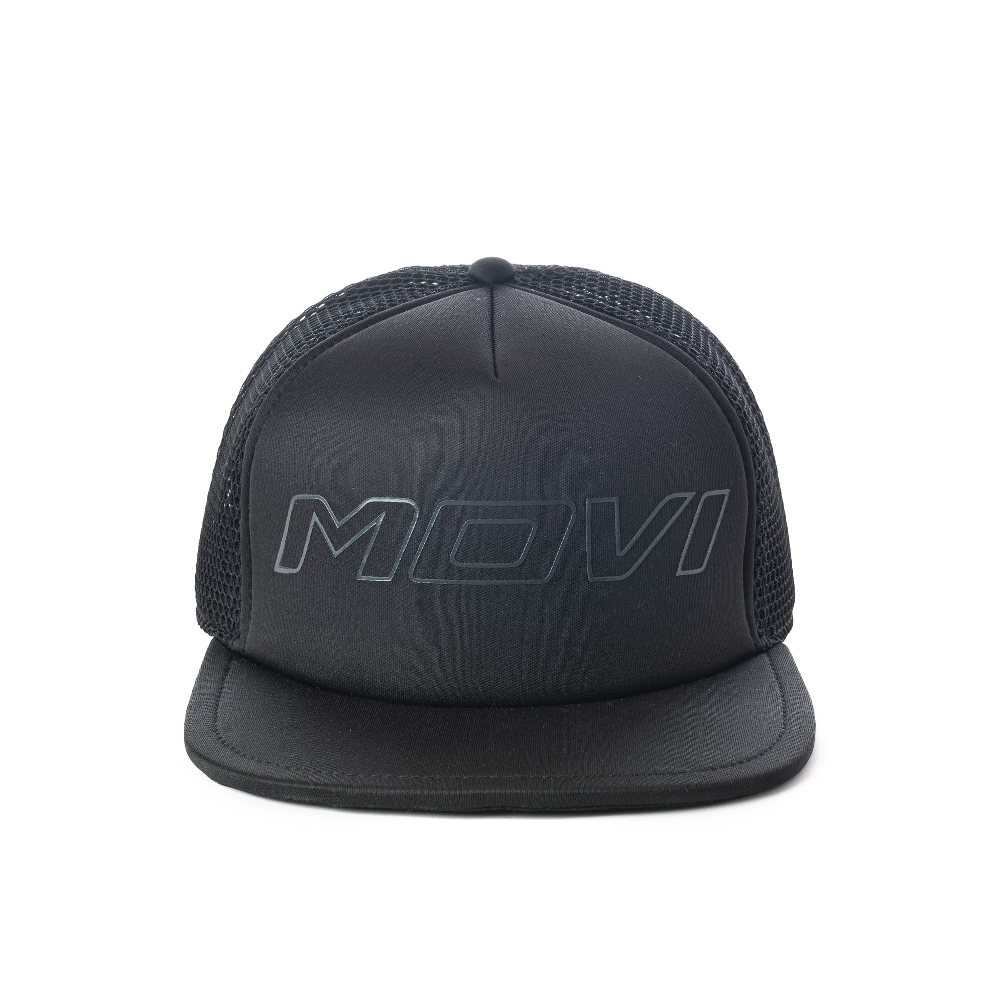 MOVI Classic Trucker - Black on Black on Black