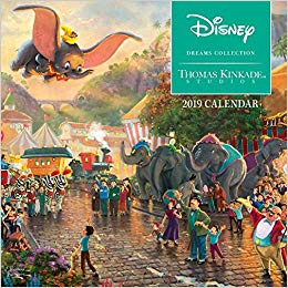 Thomas Kinkade Studios: Disney Dreams Collection 2019 Mini Wall Calendar