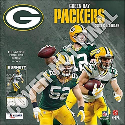 Green Bay Packers 2019 12x12 Team Wall Calendar