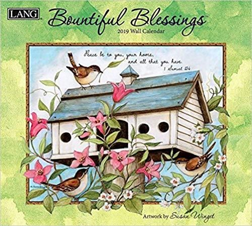 Bountiful Blessings 2019 14x12.5 Wall Calendar