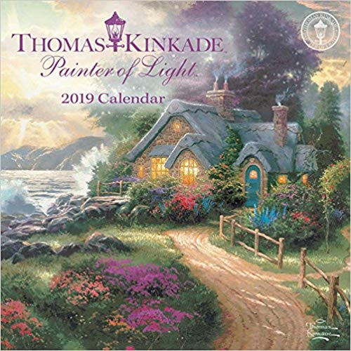 Thomas Kinkade Painter of Light 2019 Calendar