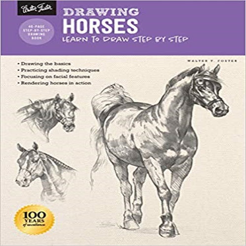 Drawing Horses: Learn to Draw Step by Step