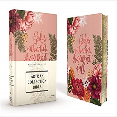 NIV Journal The Word Bible: New International Version, Artisan Collection Bible, Pink Floral