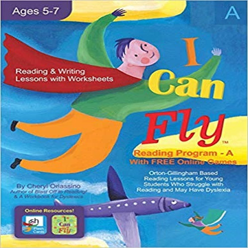 I Can Fly - Reading Program - A, With FREE Online Games: Orton-Gillingham