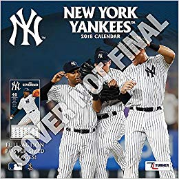 New York Yankees 2019 12x12 Team Wall Calendar