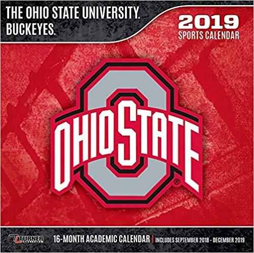 The Ohio State University Buckeyes 2019 Calendar