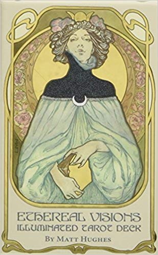 Ethereal Visions: Illuminated Tarot Deck [With Booklet]
