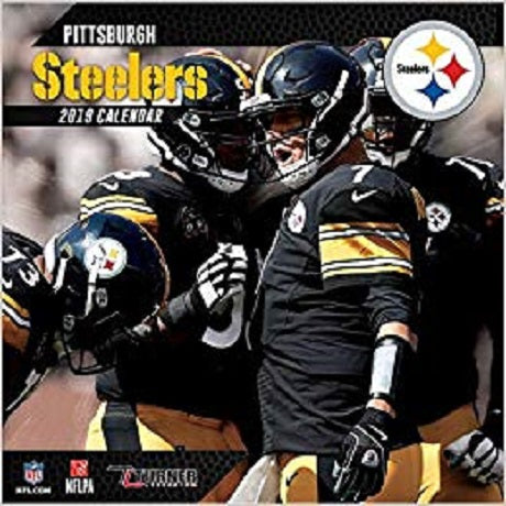 Pittsburgh Steelers 2019 12x12 Team Wall Calendar