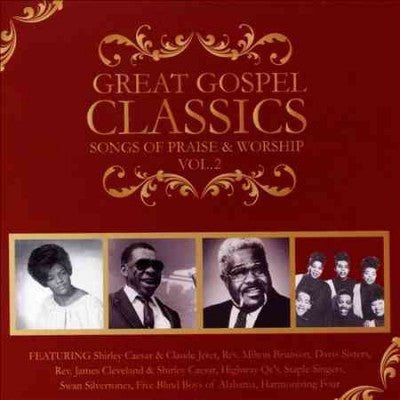 GREAT GOSPEL CLASSICS:SONGS OF PRAISE
