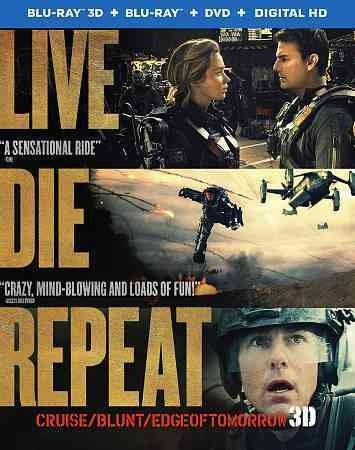 LIVE DIE REPEAT (EDGE OF TOMORROW) 3D