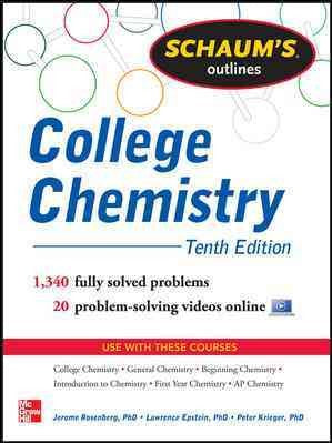 Schaum's Outlines College Chemistry (Schaum's Outlines)
