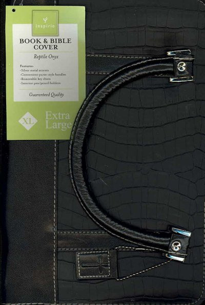 Reptile Onyx Book & Bible Cover Extra Large