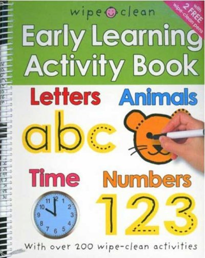 Wipe Clean Early Learning Activity Book (Wipe Clean)