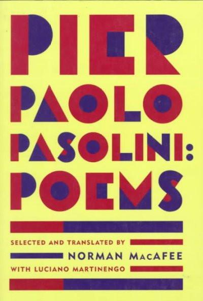 Pier Paolo Pasolini: Poems