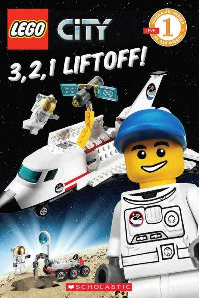 3, 2, 1, Liftoff! (Scholastic Readers: Lego)