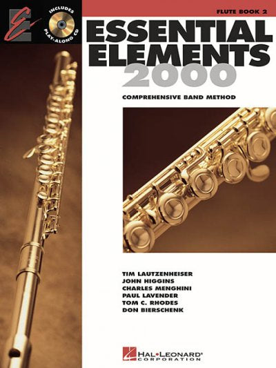 Essential Elements for Band: Flute Book 2 : Comprehensive Band Method: Essential Eleme