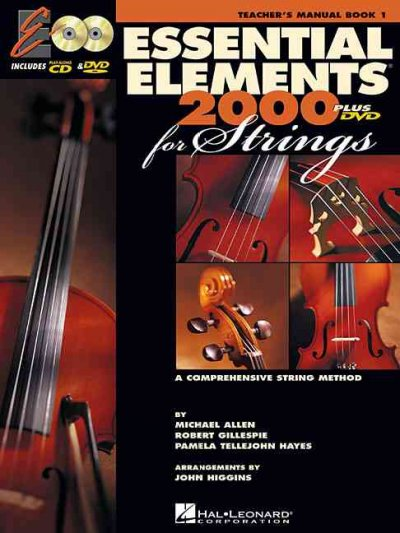 Essential Elements for Strings: A Comprehensive String Method : Teachers Manual, Spiral: Essential Elements 2000 for Strings: A Comprehensive String Method : Teachers Manual, Spiral