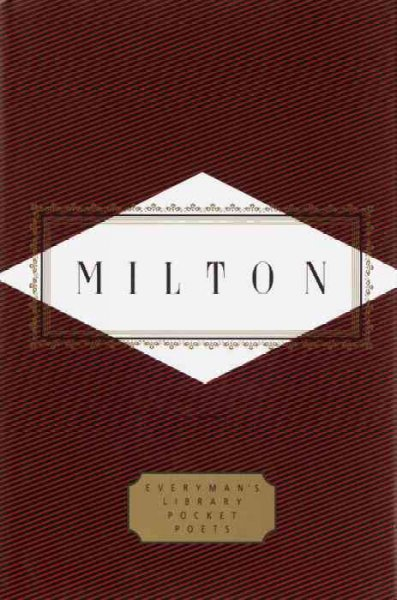 Milton: Poems (Everyman's Library Pocket Poets): Milton