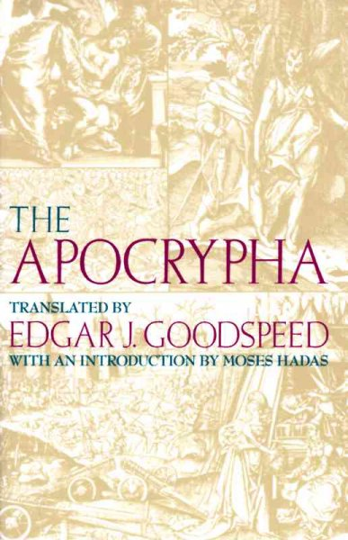 The Apocrypha: An American Translation