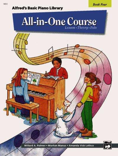 Alfred's Basic  Piano Library All-in-One Course: Book 4