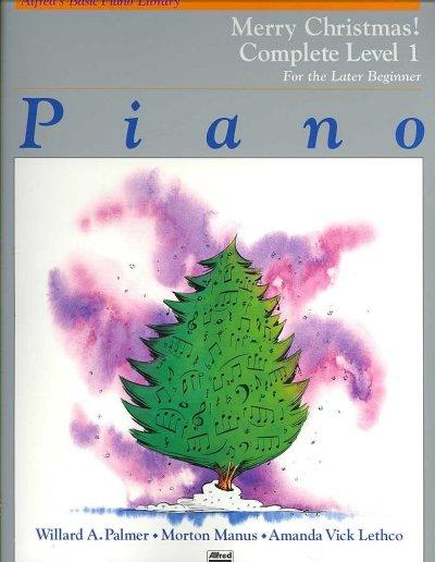 Alfred's Basic Piano Library: Merry Christmas! Complete Level 1, For The Later Beginner (Alfred's Basic Piano Library)