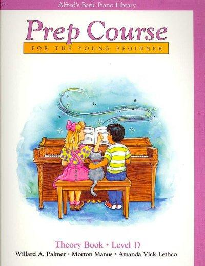 Alfred's Basic Piano Prep Course For the Young Beginner: Theory Book - Level D (Alfred's Basic Piano Library)