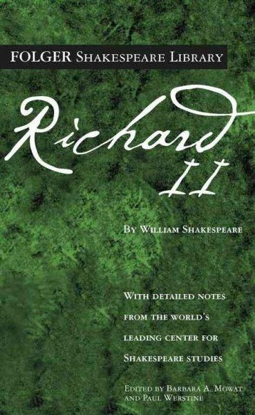 The Tragedy of Richard II (Folger Shakespeare Library)