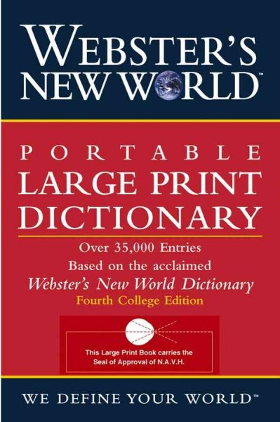 Webster's New World Portable Dictionary