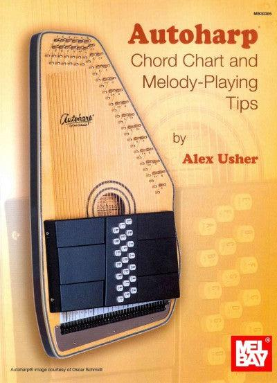 Autoharp Chord Chart and Melody-Playing Tips