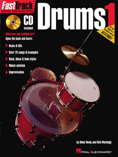 Fasttrack Drums Method (Fast Track Music Instruction)