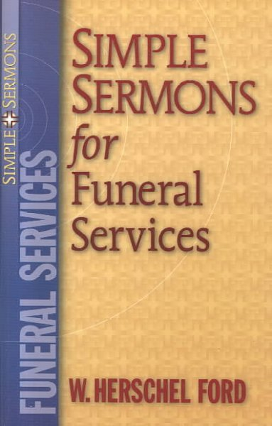 Simple Sermons for Funeral Services (Simple Sermons)