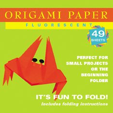 Origami Paper Fluorescent: 49 Sheets