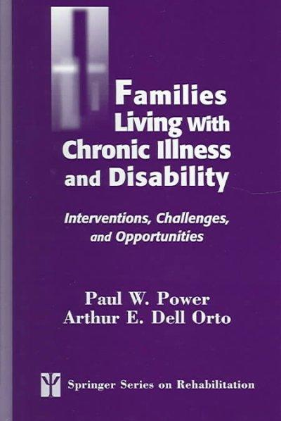 Families Living With Chronic Illess And Disability