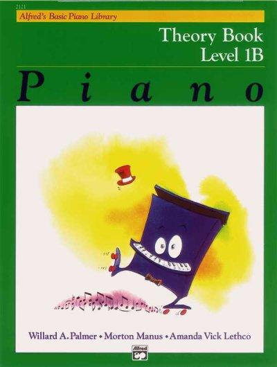 Alfred's Basic Piano Library: Theory Book Level 1B