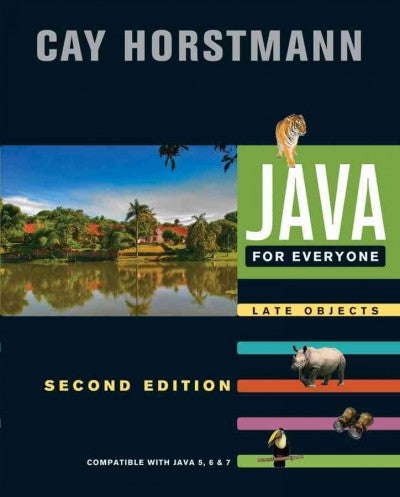 Java for Everyone: Late Objects: Compatible with Java 5, 6 & 7