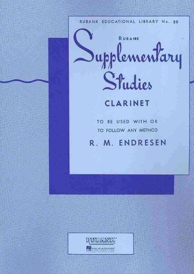 Supplementary Studies for Clarinet (Rubank Educational Library No. 20)