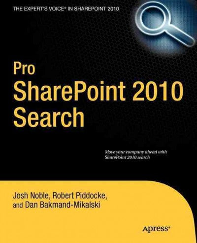 Pro SharePoint 2010 Search (Pro)