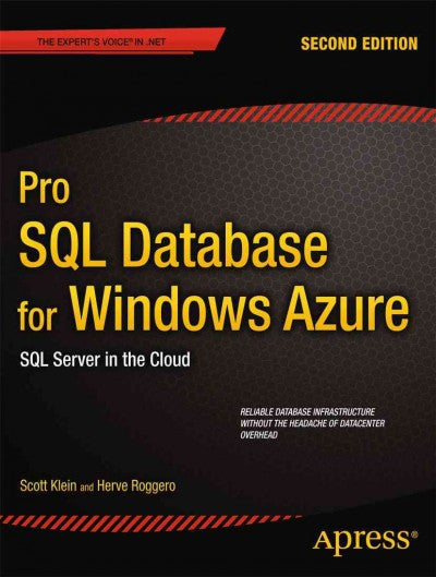 Pro SQL Azure: SQL Server in the Cloud