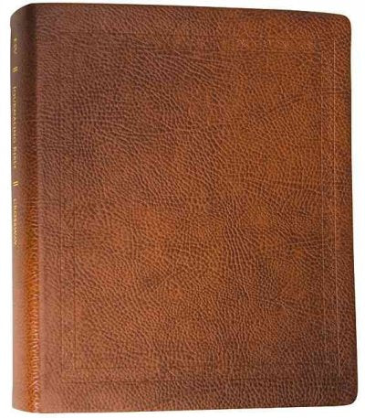 The Holy Bible ESV English Standard Version Journaling Bible: ESV Journaling Bible Mocha,Bonded Leather,Threshold Design